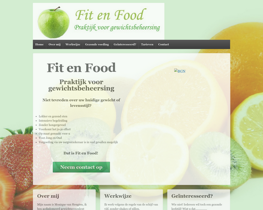 Fit en Food Logo